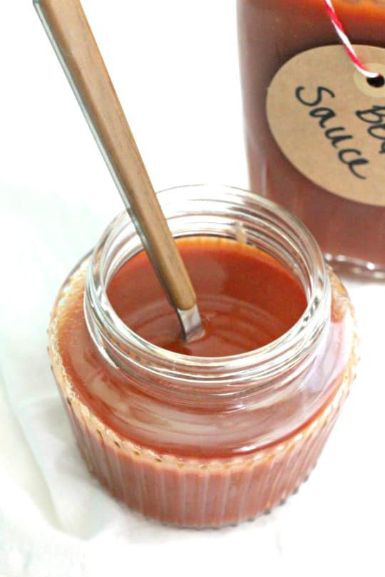 Homemade BBQ Sauce - Low Carb, and tangy | www.casadecrews.com