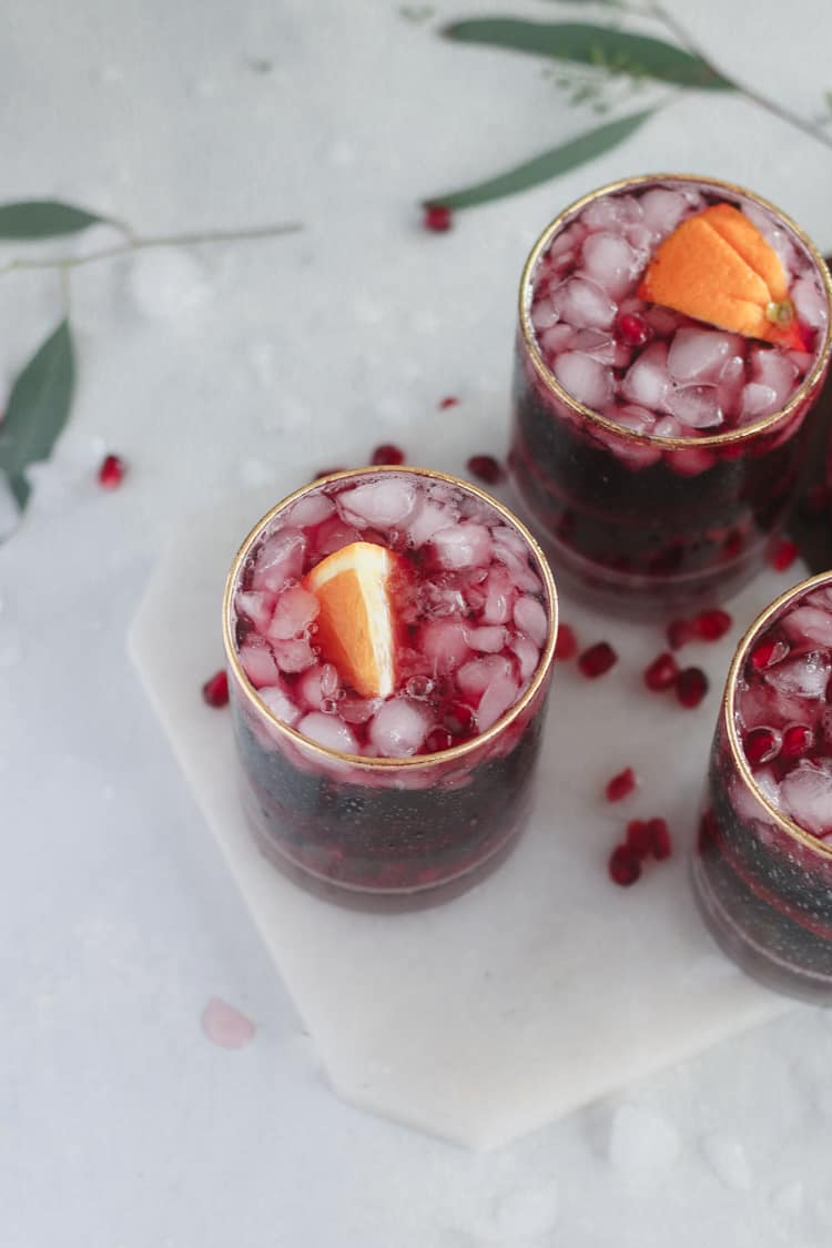 Pomegranate Pinot Punch