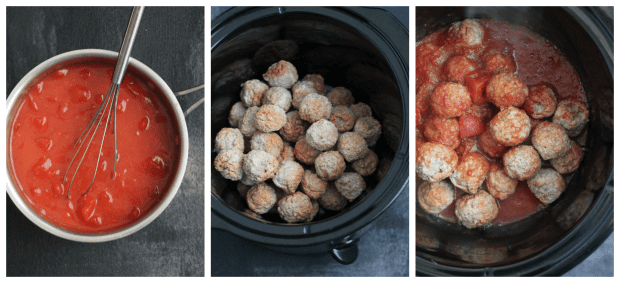 Slow-Cooker Potluck Meatballs | casadecrews.com