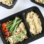 Pesto Chicken Quinoa Bowls (Meal Prep)
