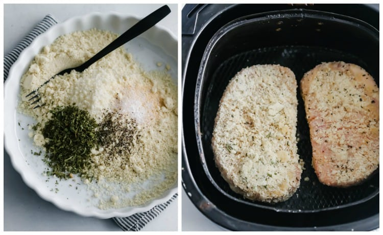 Almond Breaded Pork Chops