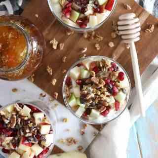 Winter Fruit Parfaits