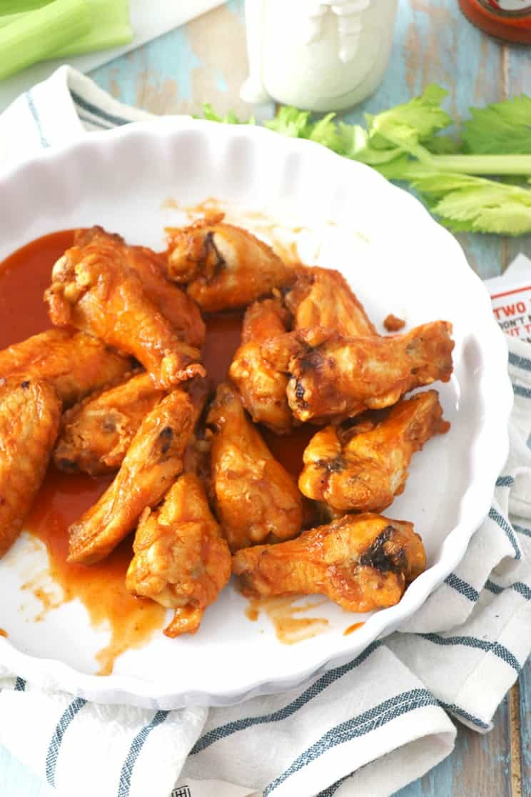 how to make crispy buffalo wings