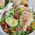 Chicken BLT Salad with a Dijon Vinaigrette