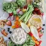 Summer Crudité Tray [weekend eats]