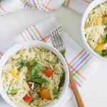 lemon orzo pasta salad [weekend eats]