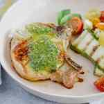 Pesto Grilled Pork Chops