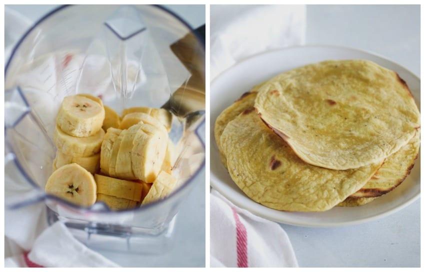 Grain Free Plantain Taco Shells