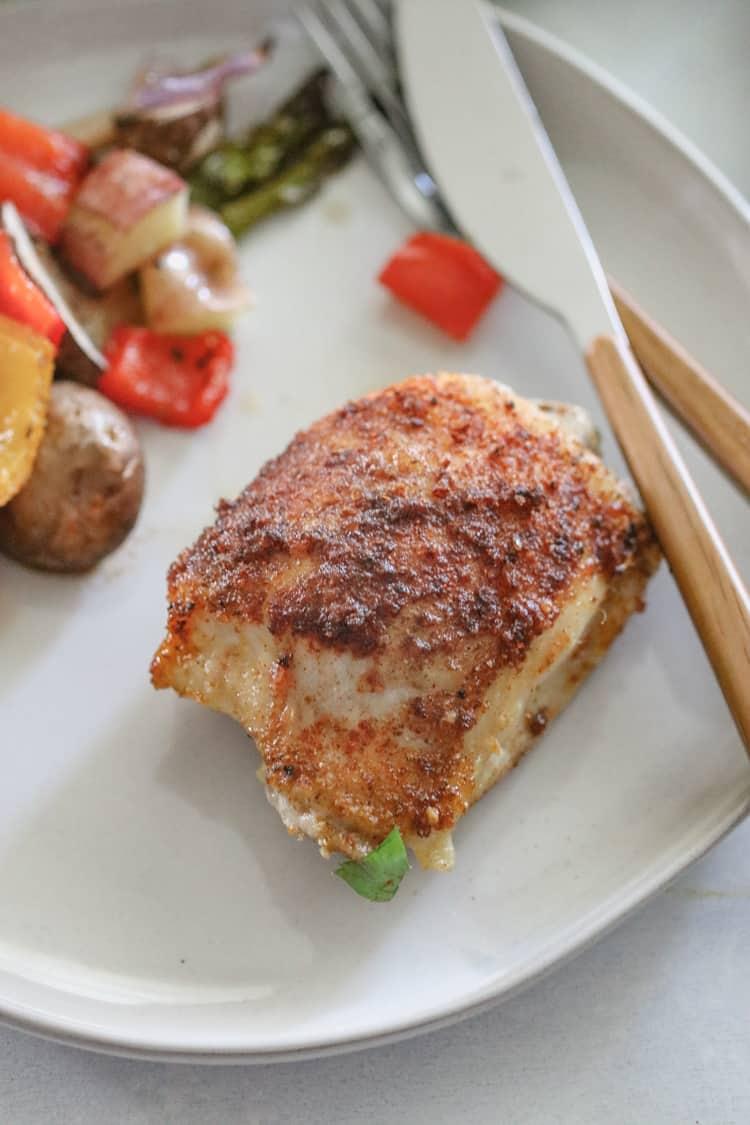Roasted Paprika Chicken Sheet Pan Dinner
