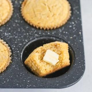 einkorn cornbread muffins