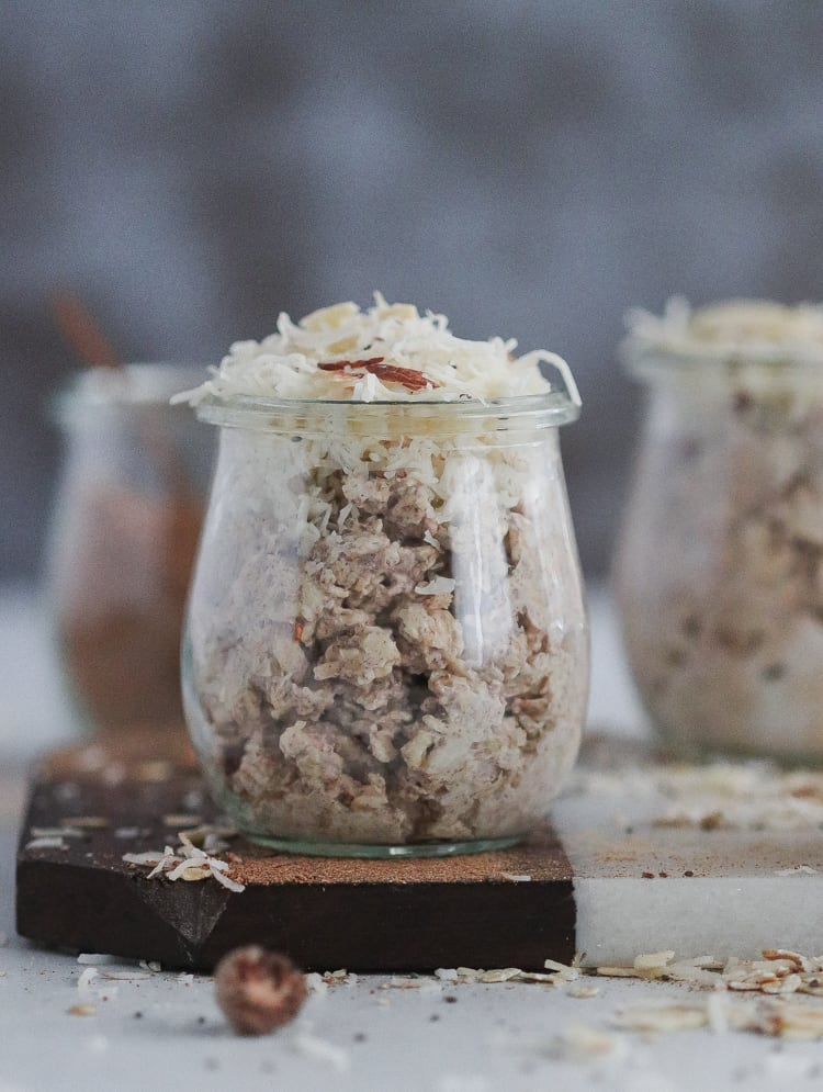 maple chai overnight oats [gluten-free]