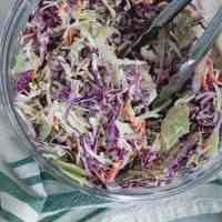 classic creamy coleslaw [low-carb]