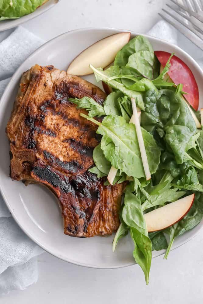 Habanero Grilled Pork Chops