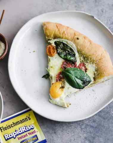 Pesto Caprese Pizza