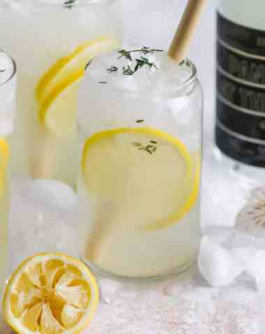 Boozy Backyard Lemonade