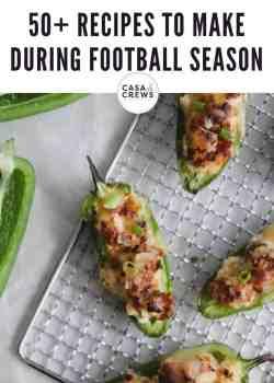 50 recipes for football season