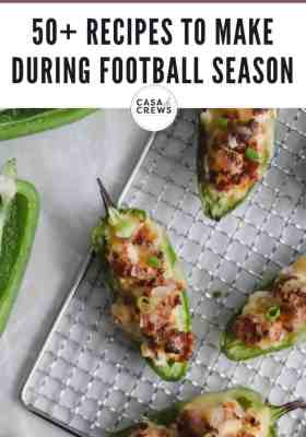 50 recipes for football season