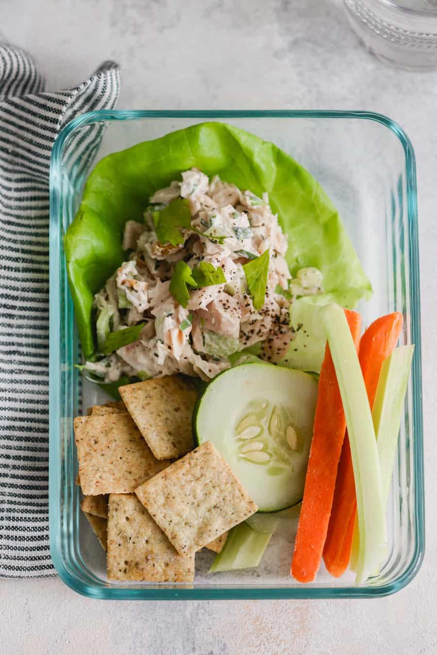 Tarragon Tuna Salad