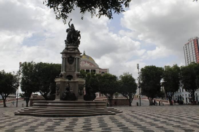 Manaus, a Paris dos Trópicos - Largo de São Sebastião