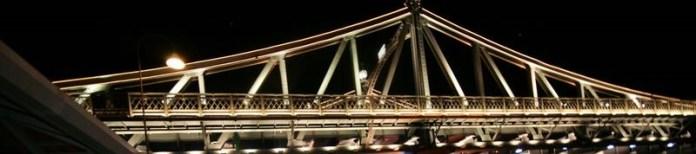 Manaus, a Paris dos Trópicos - Ponte Metálica Benjamin Constant