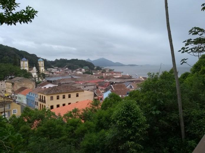 São Francisco do Sul vista do Mirante do Morro do Hospício