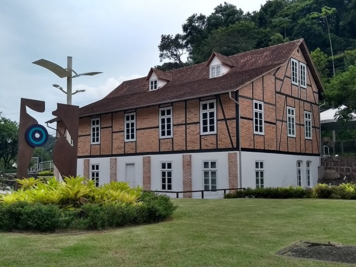 Museu Hering área externa