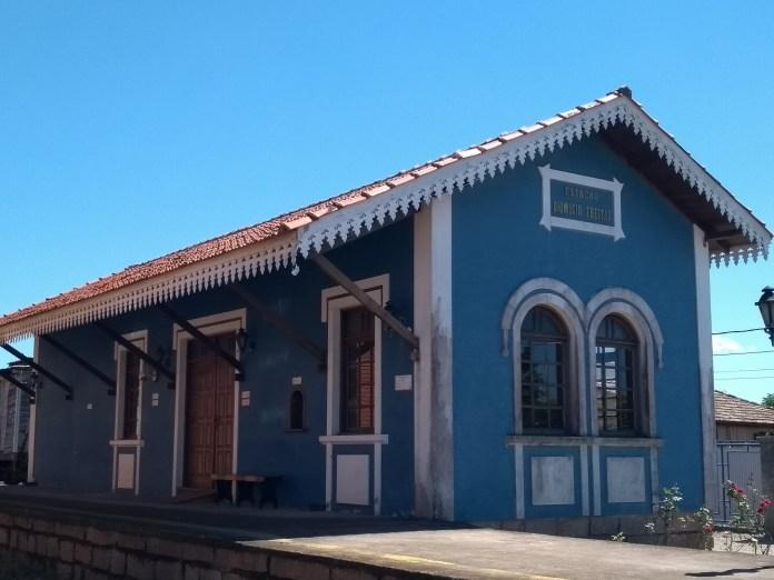Museu Ferroviário de Tubarão Estação de Trem