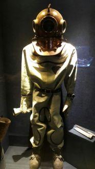 Museu Oceanográfico Univali escafandro