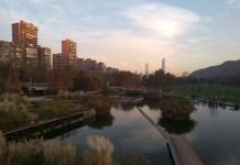 Santiago do Chile Parque Bicentenário