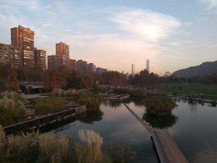 Santiago do Chile Parque Bicentenário