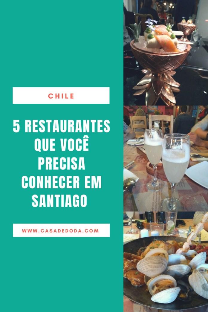 Santiago do Chile Restaurantes