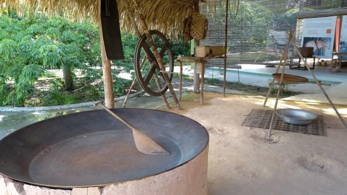MUSA- Museu da Amazônia Manaus exposição sobre a cultura da mandioca