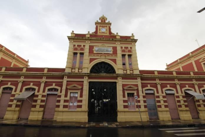 Mercado Adolpho Lisboa Manaus Fachada