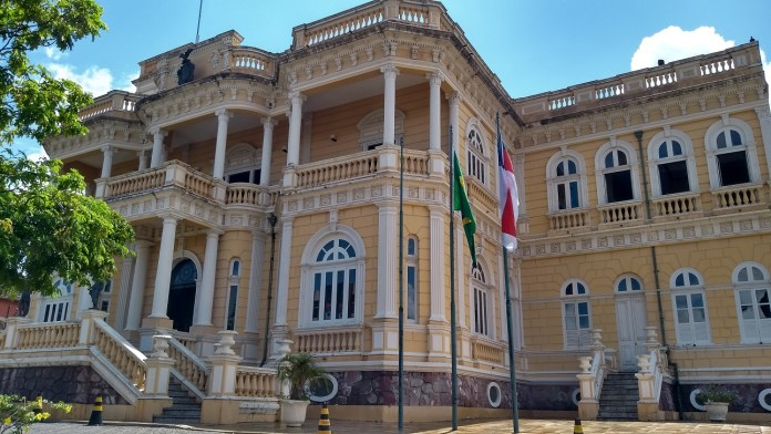 Manaus, a Paris dos Trópicos - Centro Cultural Palácio Rio Negro