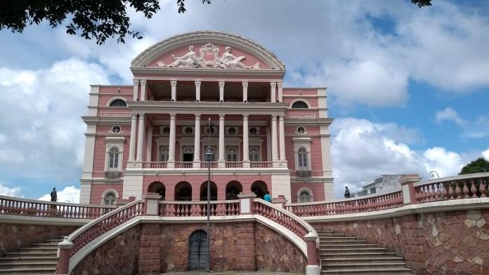 Teatro Amazonas fachada