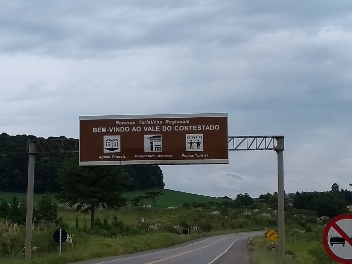 Treze Tílias fica no Vale do Contestado, em Santa Catarina.
