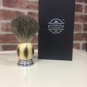 Pincel barbear texugo Barbear clássico