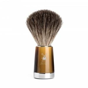Mühle - Pincel de barba texugo cinza Liscio