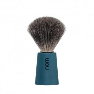 Pincel de Barbear Nom Texugo cinza (Serie Carl Azul)