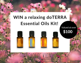 WIN a relaxing essential oils kit
