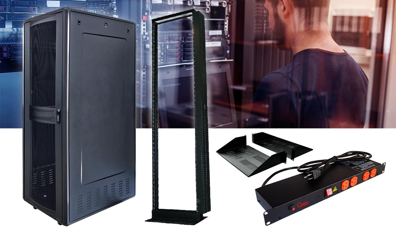 gabinetes y accesorios para data center