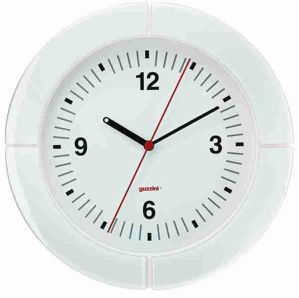 Orologio da parete i-Clook bianco Guzzini