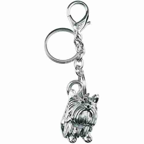 P.ta chiavi con orologio cane