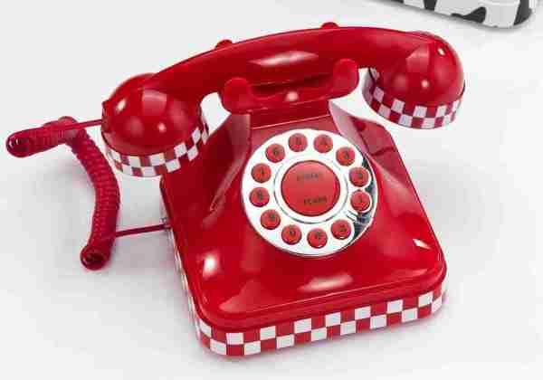 Telefono Racing rosso
