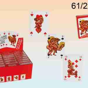 Carte da gioco Kama Sutra Comic