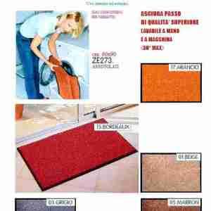 Asciugapasso Wash&clean cm.60x90 colori assortiti