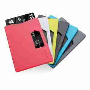 Portacarte RFID colori assortiti