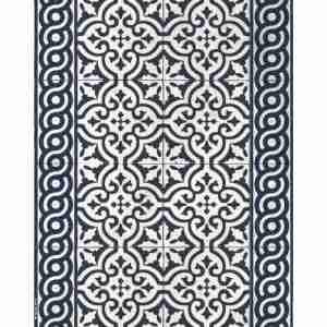 Tappeto vinile Beija Flor decoro Mountain AuthenticTs11-c 60x80