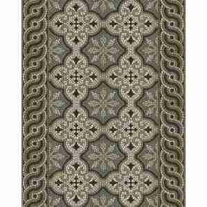 Tappeto vinile Beija Flor decoro Mountain mosaic TS2-M cm.60x97