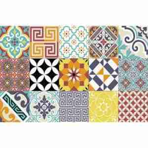 Placemat-tableware Beija Flor dec. Eclectic E10